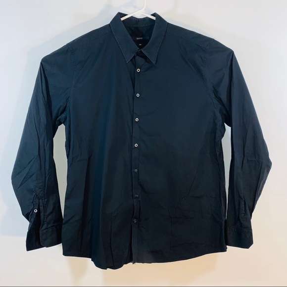 2cd4e52cf2a Gucci Shirts | Black Dress Shirt Made In Italy | Poshmark